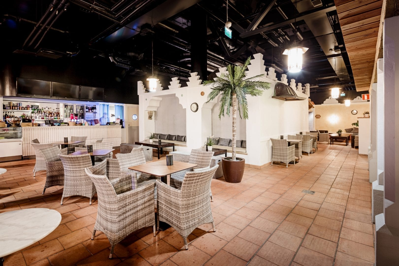 Flamingo Spa Cafe aikuisten puoli