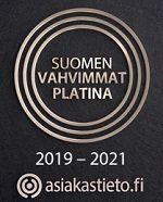 Suomen vahvimmat - Platinalogo