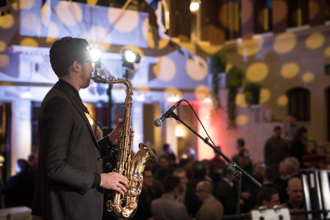 saksofonisti Johannes Salomaa
